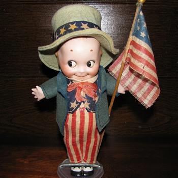 Rare bisque Kewpie - Dolls