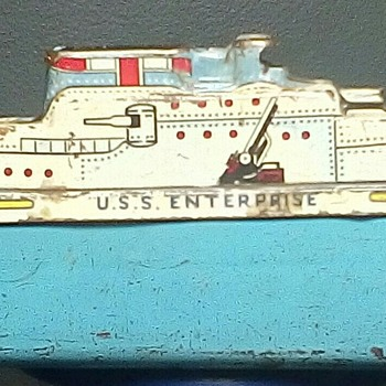 "Wyandotte Toys  ""Carrier USS Enterprise"" - Toys"