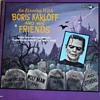 """""""An Evening with Boris Karloff and His Friends"""" Record"""