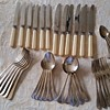 1936 Grosvenor Firth-Brearly Cutlery Set with Bone handled Knives