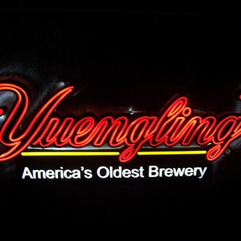 6 ft. long Yuengling lighted sign - Signs