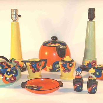 Mrazek Deco Patterns - Pottery