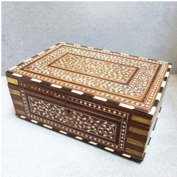 Anglo-Indian Rosewood Dressing Box with Ebony/Invory Inlay