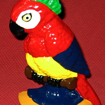 1920's Polly Parrot Doorstop - Tools and Hardware
