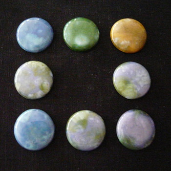 """MINTON HOLLINS """"ASTRA"""" CABOCHONS"""