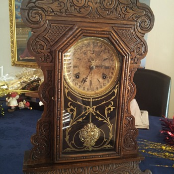 Waterbury clock I got from my grandfather.