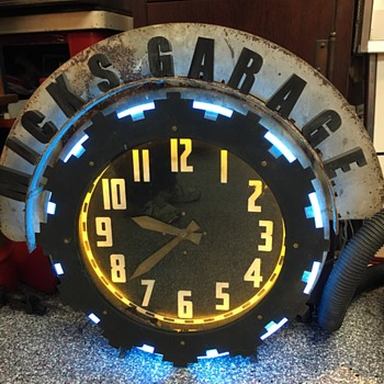 A few of the great neons clocks I've gotten over the summer. - Clocks