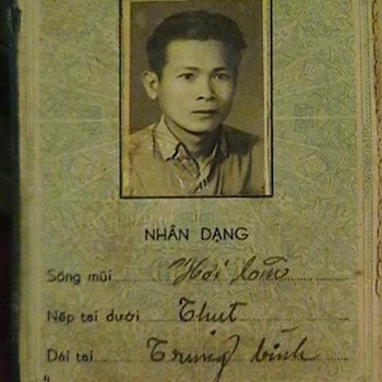 NVA ID Booklet - Military and Wartime