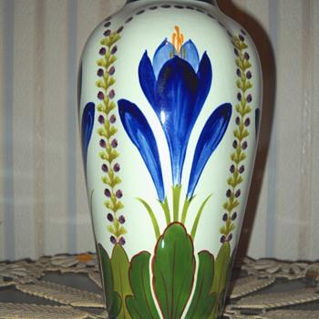 Unknown, yet lovely Pottery Vase - Pottery