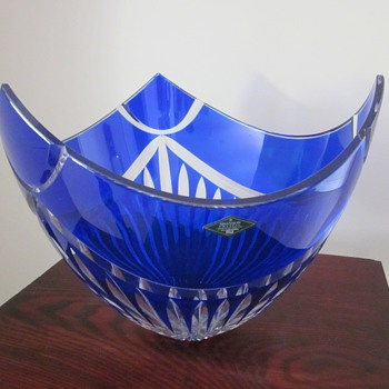 Hand Cut Shannon Crystal - Art Glass