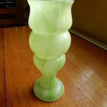 Ruckl? Welz? Kralik? vase. - Art Glass