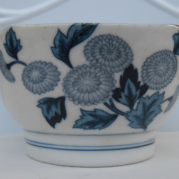Chinese antique bowl & cups  - Asian