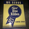 Rare Vintage pabst blue ribbon pub sign