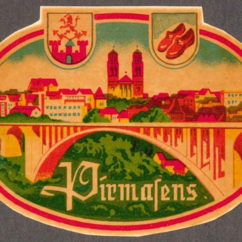 Travel Decal - Pirmasens (Germany) - Advertising