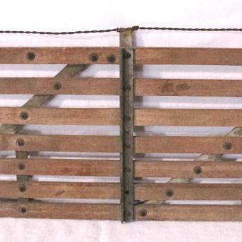 STURDY FARM OR RANCH GATE