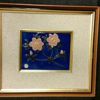 Arts and Craft Tile with signature