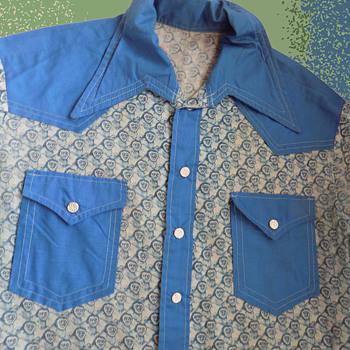 60s/70s Musician ERIC ET THORNGREN's Concert Wardrobe #3 Monkey Shirt - Mens Clothing