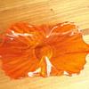 Orange Art Glass Bowl