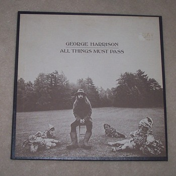 George Harrison 'All Things Must Pass' - Records