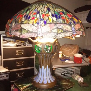Iffany dragonfly lamp - Lamps