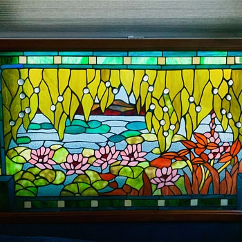 Need information about antique Stained Glass - Art Glass