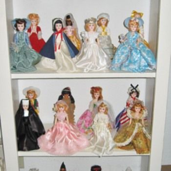 "My Blue Bonnet Margarine ""Storybook Dolls"" dolls! - Dolls"