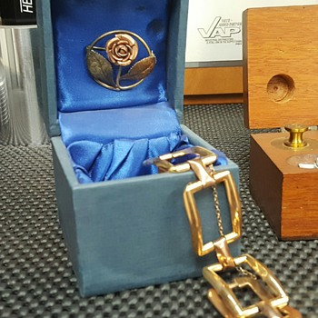 Vintage gold plated jewelry