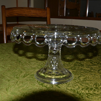 Cake stand - Glassware