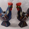 John Gudmunds Rooster Candle Holders