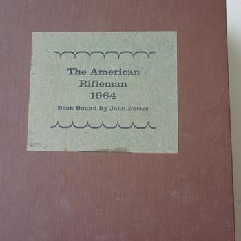 Amer. Rifleman 1964 bound edition - Books
