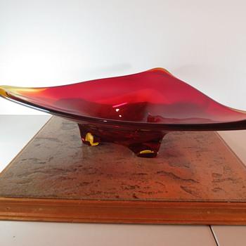 KOF Glass Bowl Japan - Art Glass