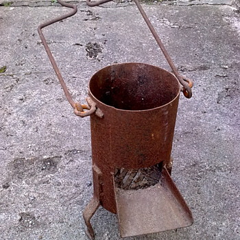 Telegraph firepot. - Tools and Hardware