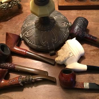 Antique pipes  - Tobacciana