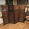 19th Century Rosewood - Chinese Folding Screen/Room Divider