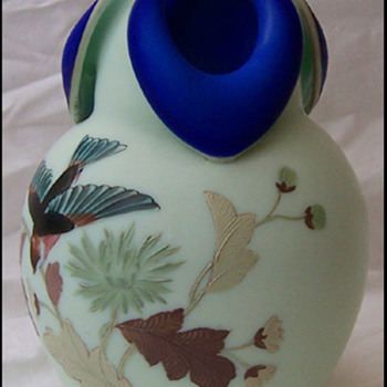 Roccoco Art Glass Vase 2 - Art Glass