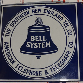 "S.N.E.T. /Southern CA ""hybrid"" sign - Telephones"