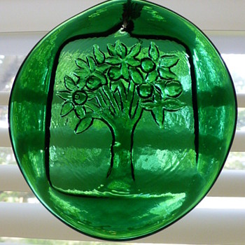 Mystery suncatchers... Blenko? - Art Glass