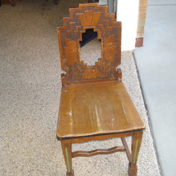 ART DECO CHAIR? - Art Deco