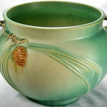 pine cone pottery roseville art pottery collectors weekly