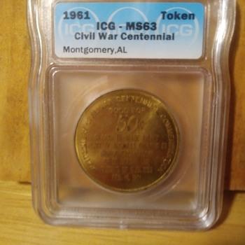 Montgomery Centennial Civil War Commemeration - US Coins