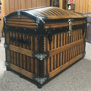 Mid 1880's Martin Maier Wedding Trunk - Furniture