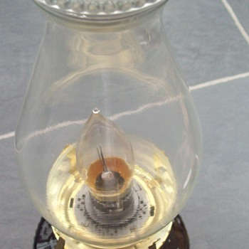 Oil Lamp Which was converted to electric lamp - Lamps