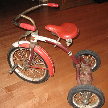 1955 Murray Velocipede Tricycle - Sporting Goods