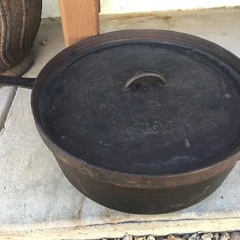 Unmarked 16 cast iron Finally Found - Kitchen