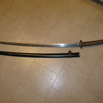 WWII Sword from Japan - Military and Wartime