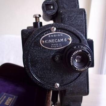 Ensign Kinecam 6 1933 16mm camera - Cameras