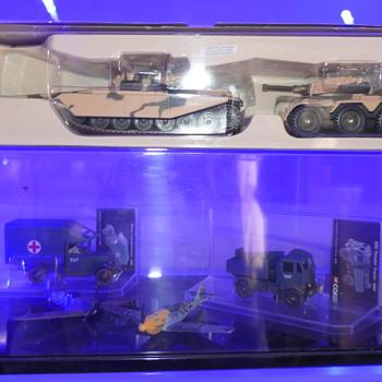Vintage Diecast Military - Toys