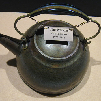 'The Waltons' . . . Screen-Used Copper Kettle