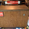 Coca cola cooler vintage out of freon but works