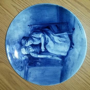 Delft plate - Pottery